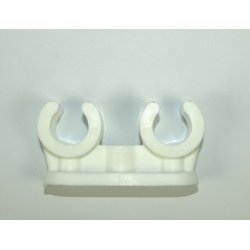 15mm Double Openlok Pipe Clip [Pack of 50]