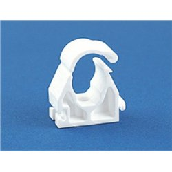 15mm Single Hinged Pipe Clip [Pack of 100]