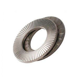 Wedge Locking Washers Zinc Plated