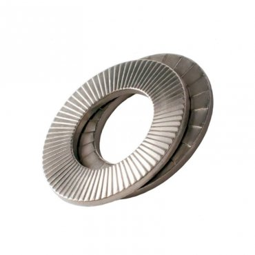 Delta  Protekt  Wedge  Locking  Washers  Zinc  Plated