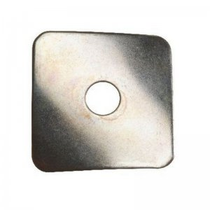Diamond Curved Washers Zinc Plated