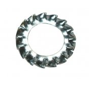 Serrated Washers Zinc Plated [External]