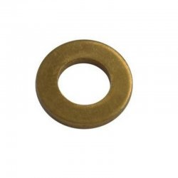 M10 Form 'A' Flat Washers Brass (Pack of 10)