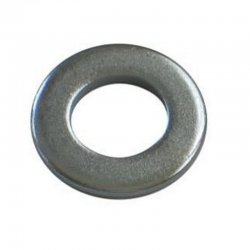 M10 Form 'B' Flat Washers Zinc Plated (Pack of 10)