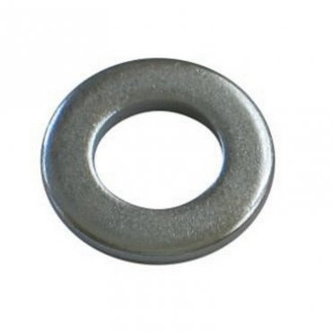 M4  Form  'B'  Flat  Washers  Zinc  Plated