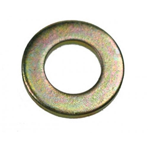 M10 Form 'A' Flat Washers Zinc & Yellow (Pack of 200) [DIN 125A]