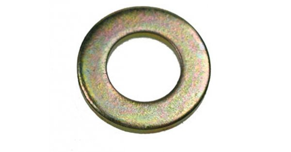 Form A Flat Washers Yellow Zinc Plated