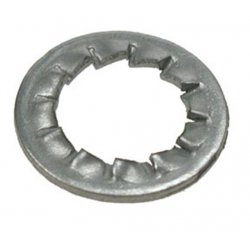 Serrated  Washers  Zinc  Plated  (Internal)