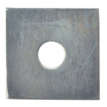M6  Square  Plate  Washers  Galvanised