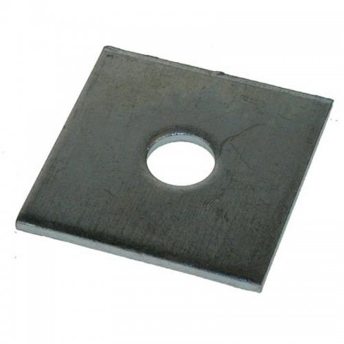 Square  Plate  Washers  Self  Colour