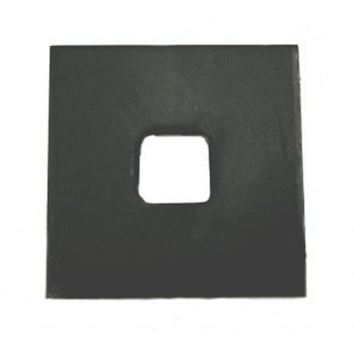 Square  Plate  (Square  Hole)  Washers  Self  Colour  [For  Use  With  Holding  Down  Bolts]
