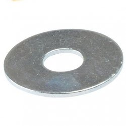 M8  Repair  /  Penny  Washers  Zinc  Plated