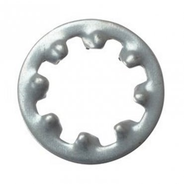 M5  Internal  Shakeproof  Washers  Zinc  Plated