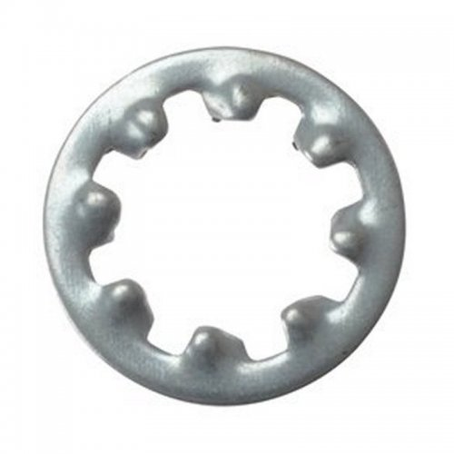 M6  Internal  Shakeproof  Washers  Zinc  Plated