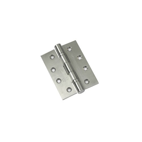 Stainless Steel Ball Bearing Hinge 102x76x3mm - Polished Stainless Steel