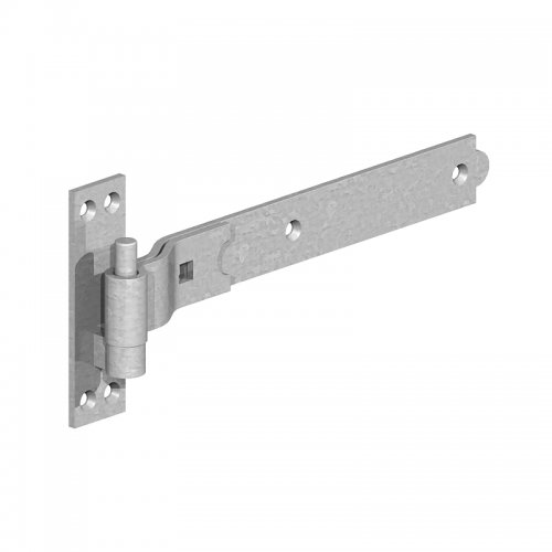 Cranked  Hook  &  Band  Hinges  -  Galvanised