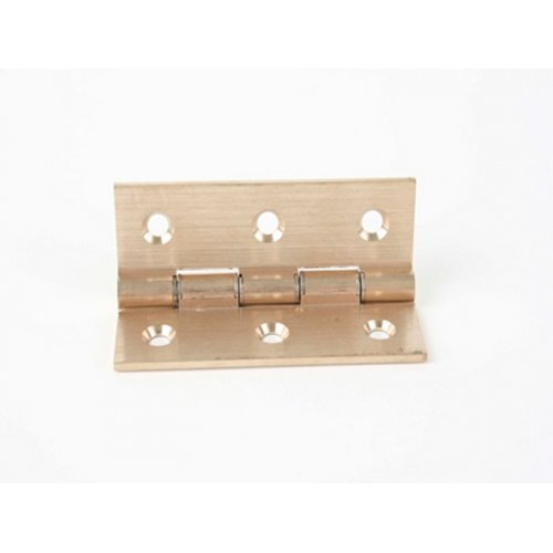 Solid  Drawn  Brass  Hinges  -  Double  Steel  Washered  [DSW]