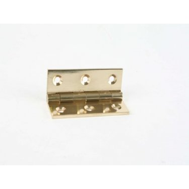 Solid  Drawn  Brass  Butt  Hinges  -  Heavy  Pattern