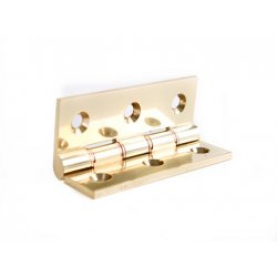Solid  Drawn  Brass  Butt  Hinges  -  Heavy  Pattern  Double  Pressed  Brass  Washered