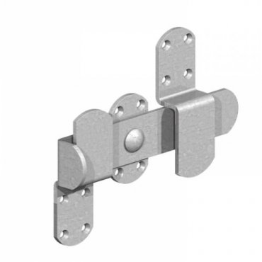 Heavy  Kickover  Stable  Latch  Galvanised