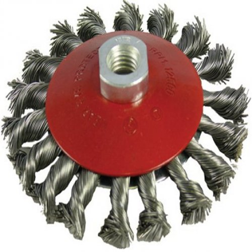 100mm x M14 Twisted Knot Bevel Brush (Pack of 5)