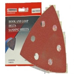 Abracs  Hook  &  Loop  Delta  Sanding  Sheets