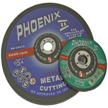 Phoenix  II  Metal  Grinding  Discs