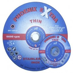 Phoenix  Extra  Thin  Inox  Metal  Cutting  Discs