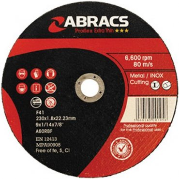 Proflex  Extra  Thin  Inox  Metal  Cutting  Discs