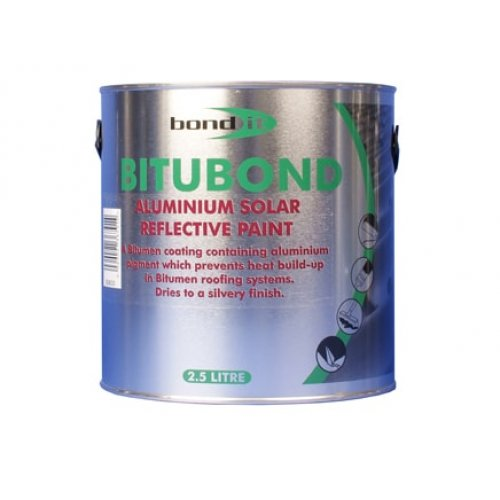 Aluminium Solar Reflective Paint - Silver 2.5L (Pack of 6)