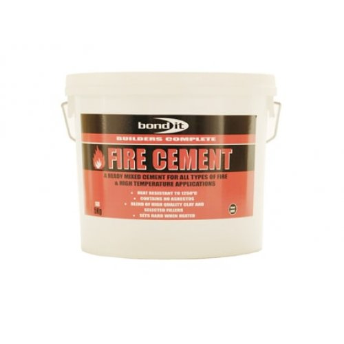 Ready Mixed Fire Cement For High Temperature Situations - 2Kg (Pack of 6)