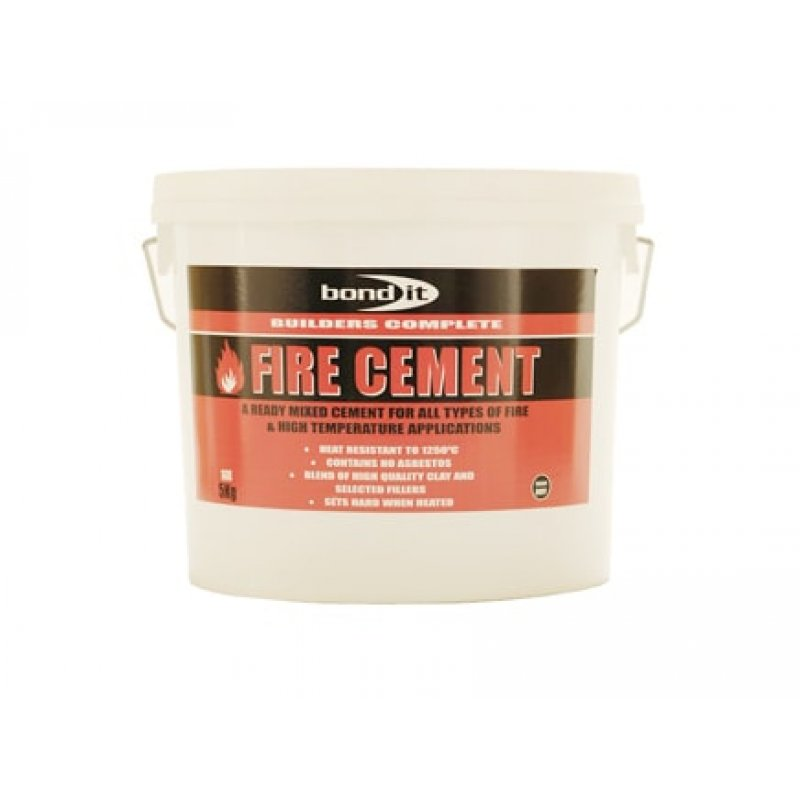 ready mixed fire cement for high temperature situations. Black Bedroom Furniture Sets. Home Design Ideas