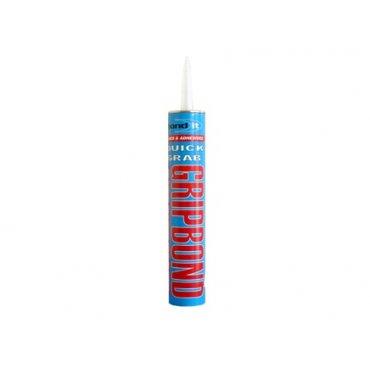 Gripbond Instant Grab Adhesive - Beige 350ml (Pack of 12)