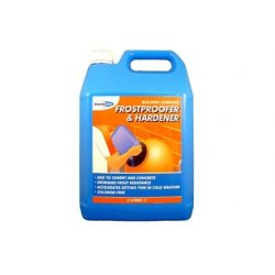 Frostproofer & Rapid Hardener For Cements - 5L (Pack of 4)