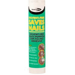 Saves Nails SF Solvent Free Grab Adhesive - White 300ml (Pack of 25)