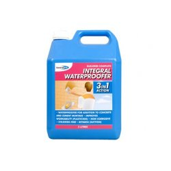 Integral Waterproofer For Cements - 5L (Pack of 4)