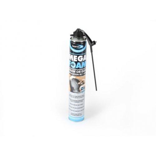 Mega Foam Gun / Aerosol Expanding Foam  - Beige 750ml (Pack of 12)