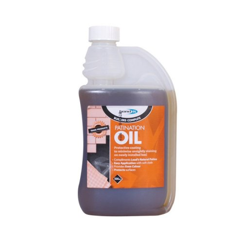 Patination  Oil  -  For  Use  With  Lead  Flashing
