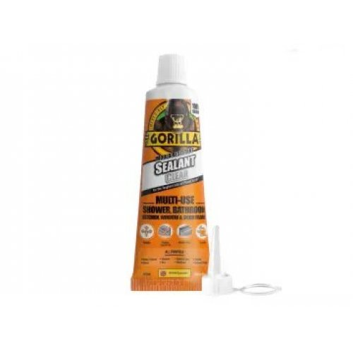 Gorilla Clear Sealant 80ml Tube (Pack of 6)