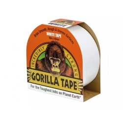 Gorilla Tape 10m White (Pack of 12)