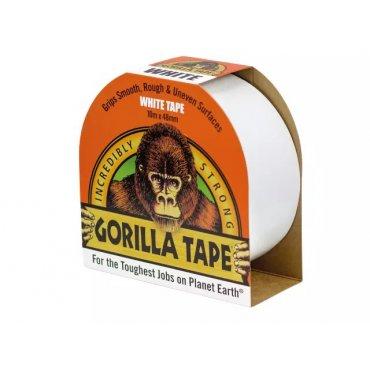 Gorilla Tape 10m White (Pack of 12)