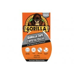 Gorilla Crystal Clear Tape 8.2m (Pack of 6)