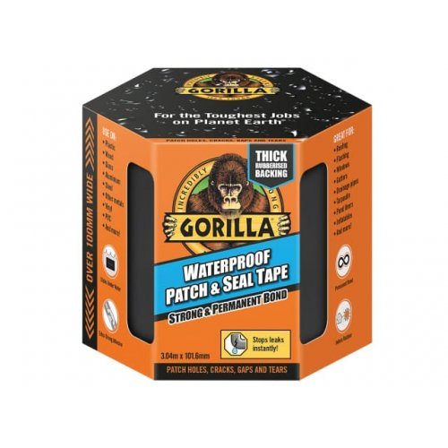 Gorilla Waterproof 3m Patch & Seal Tape (Pack of 3)
