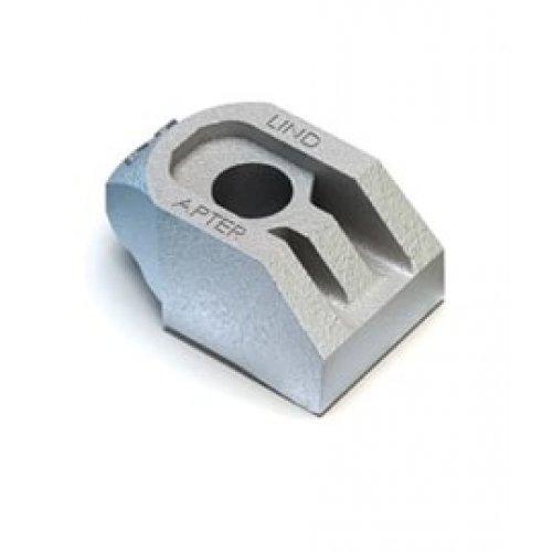 Lindapter AF High Slip Resistance Clip - M12 Medium Zinc Plated (Pack of 1)