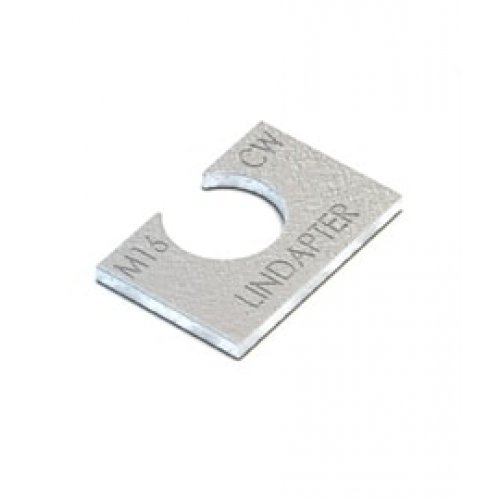 Lindapter AF Clipped Washer - M12 Zinc Plated (Pack of 1)