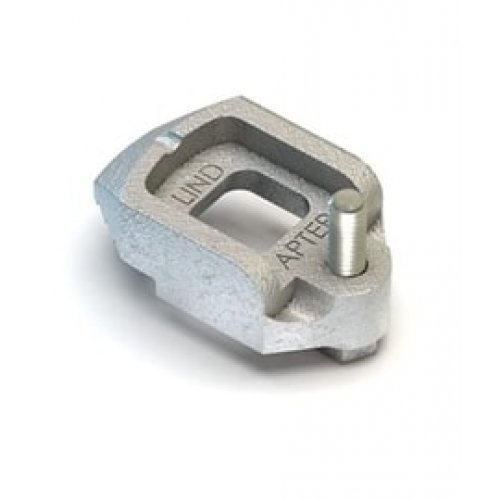 Lindapter D2 Adjustable Clamp - M10 Zinc Plated (Pack of 1)