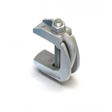 Lindapter  F9  Flange  Clamps  Zinc  Plated