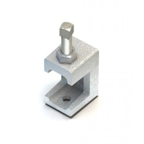 Lindapter LC Flange Clamp (Lindiclip) - M6 Zinc Plated (Pack of 1)