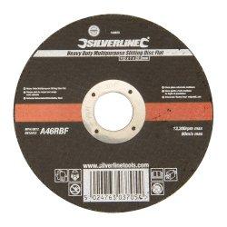 Heavy Duty Multipurpose Slitting Disc Flat 115 x 1 x 22.23mm
