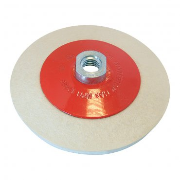 Bevelled Felt Buffing Wheel 115mm